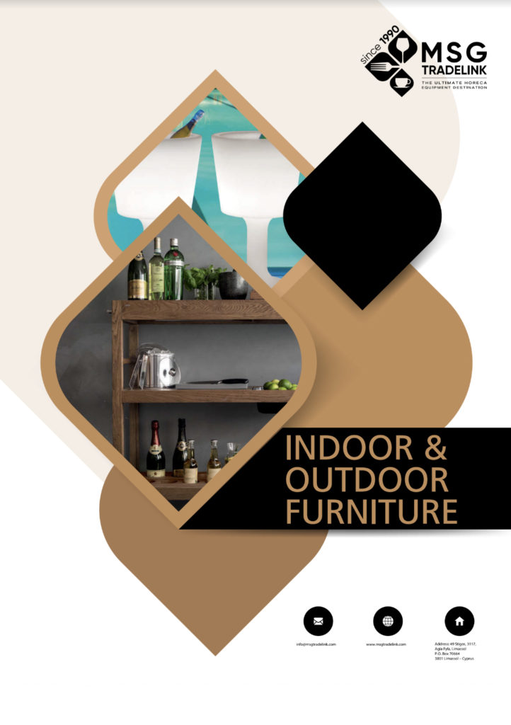 Indor and outddoor furniture - Furniture for hotel - Cyprus