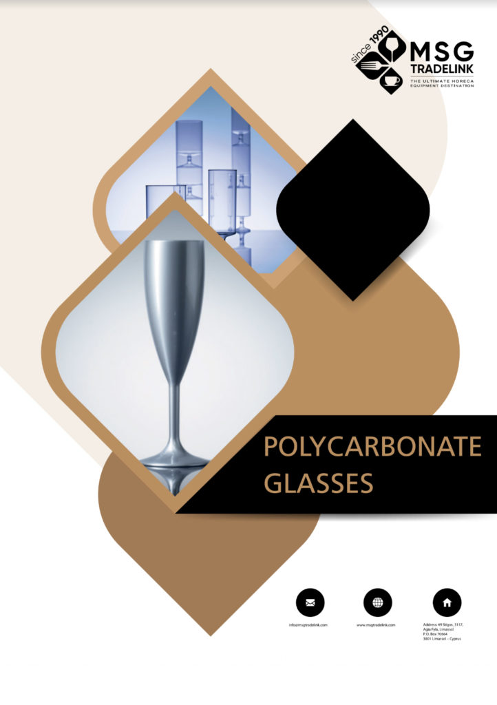 Polycarbonate - Glassware - Supplier in Cyprus