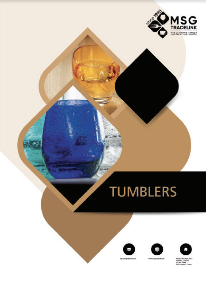 Tumblers - Glassware supplier in cyprus