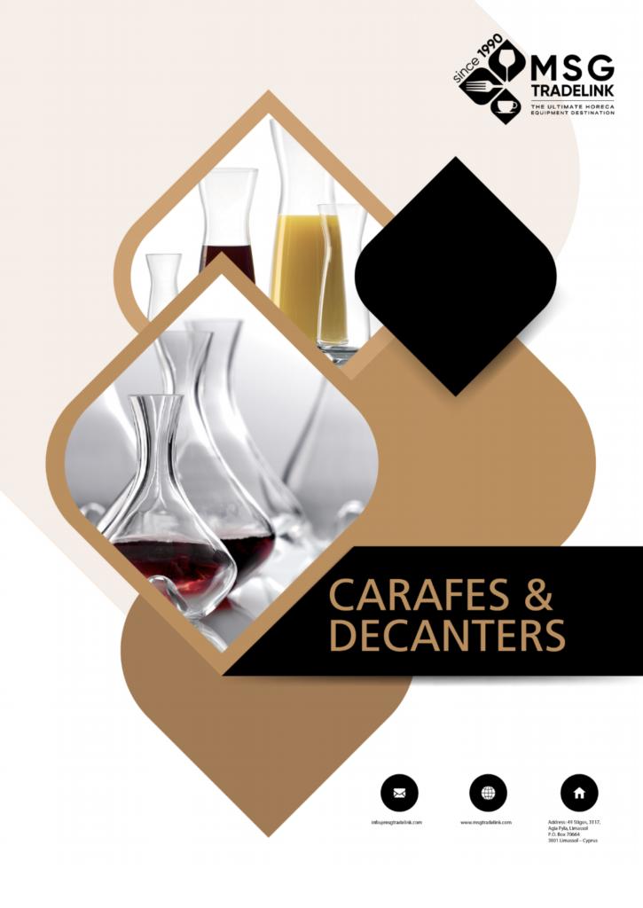 Carafes & Decanters - Glassware - Cyprus