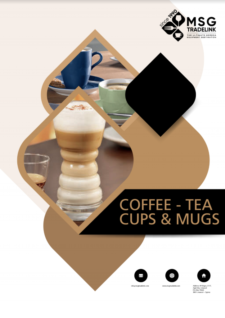 Coffee - tea cups & mugs - Glassware - Cyprus