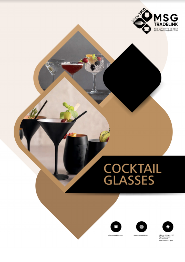 Cocktail Glasses - HORECA environment Cyprus