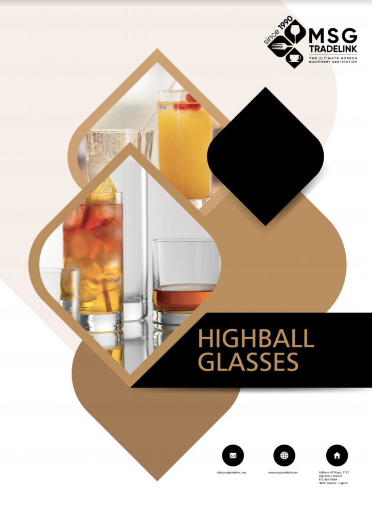 HIGHBALL Glasses - Glassware - Cyprus