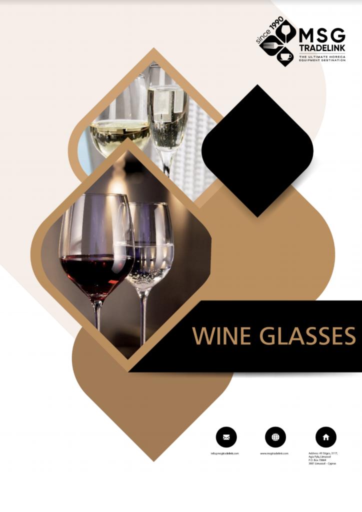 Wine Glasses - Glassware - supplier in Cyprus