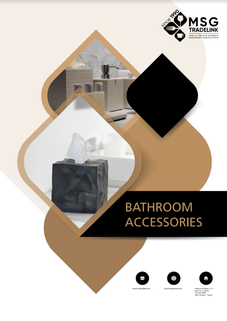 GUESTROOM ACCESSORIES | bathroom accessories | Cyprus