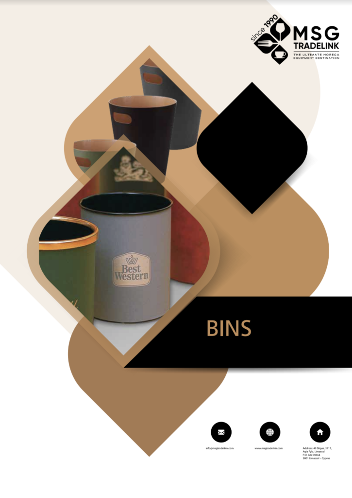 GUESTROOM ACCESSORIES | Bins | Cyprus
