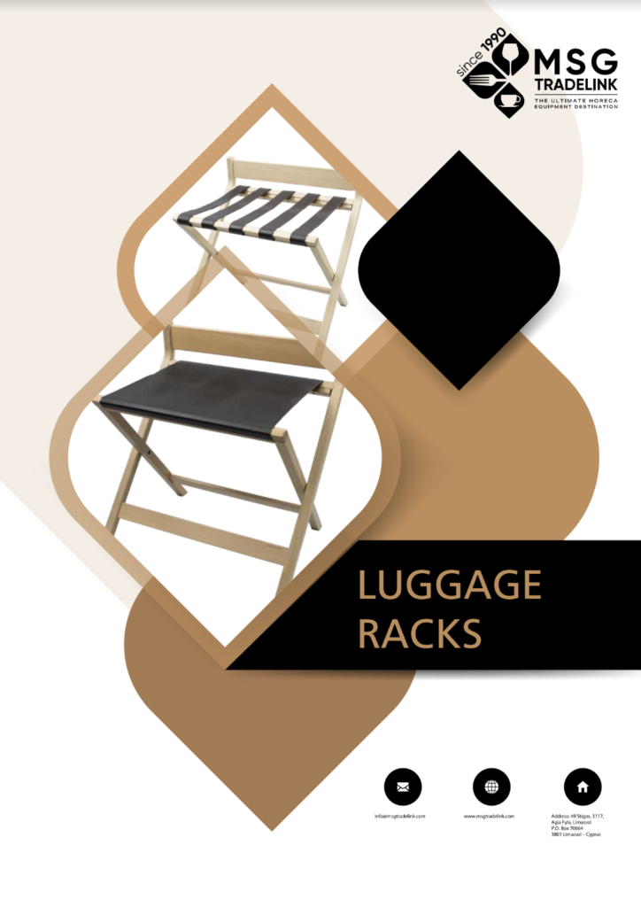 GUESTROOM ACCESSORIES | Luggage Racks | Cyprus