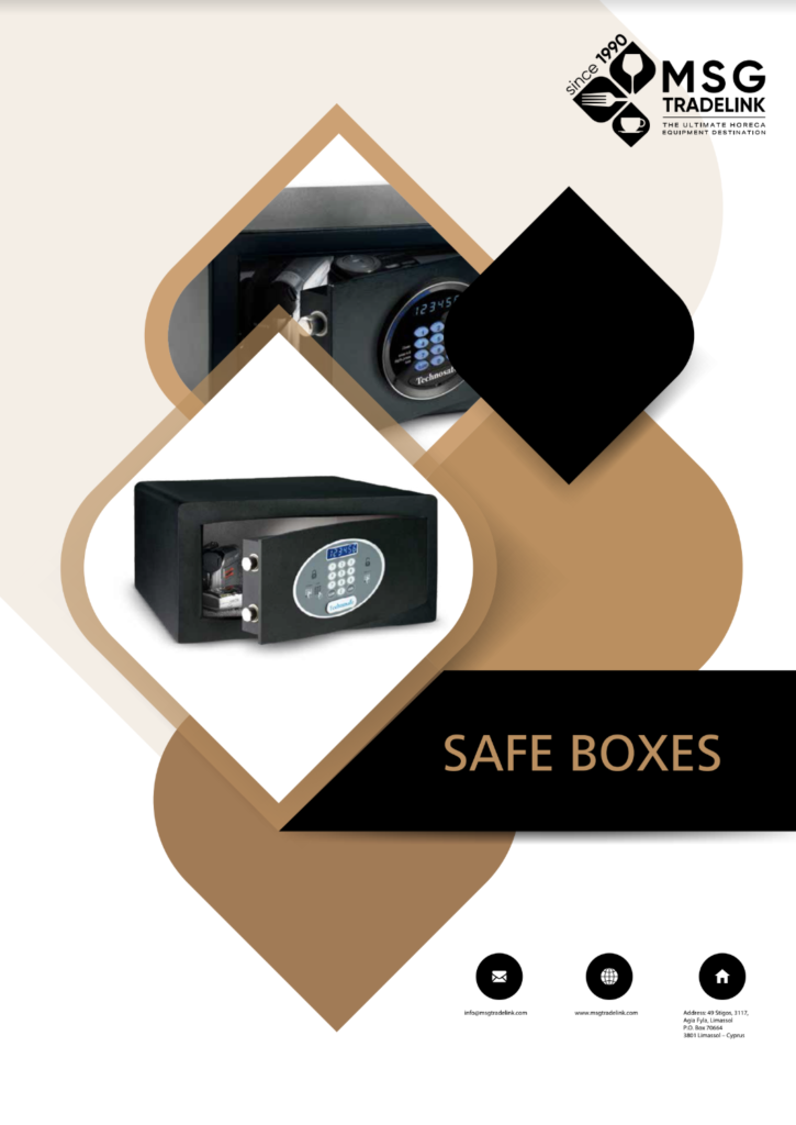 Safe Boxes | GUESTROOM ACCESSORIES | Cyprus