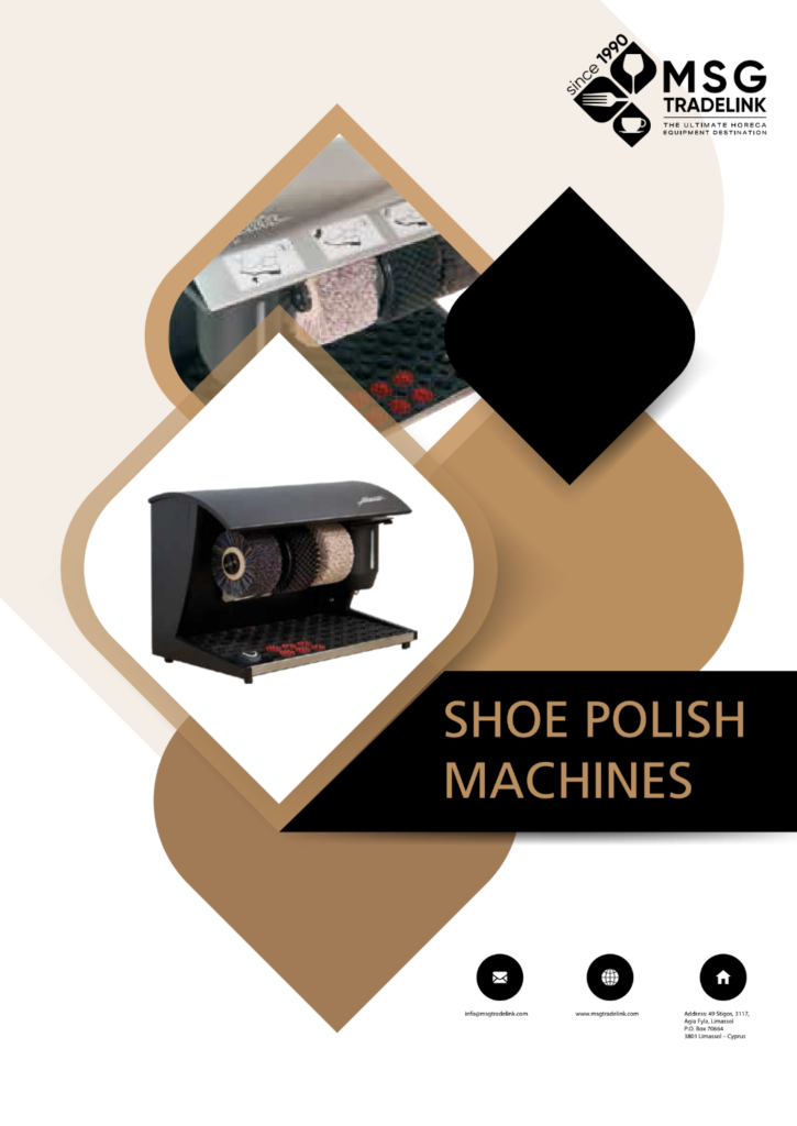 Shoe Polish Machines | GUESTROOM ACCESSORIES | Cyprus