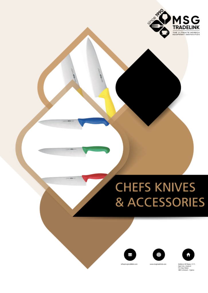 Chefs Knives & accessories | Kitchen solutions Cyprus