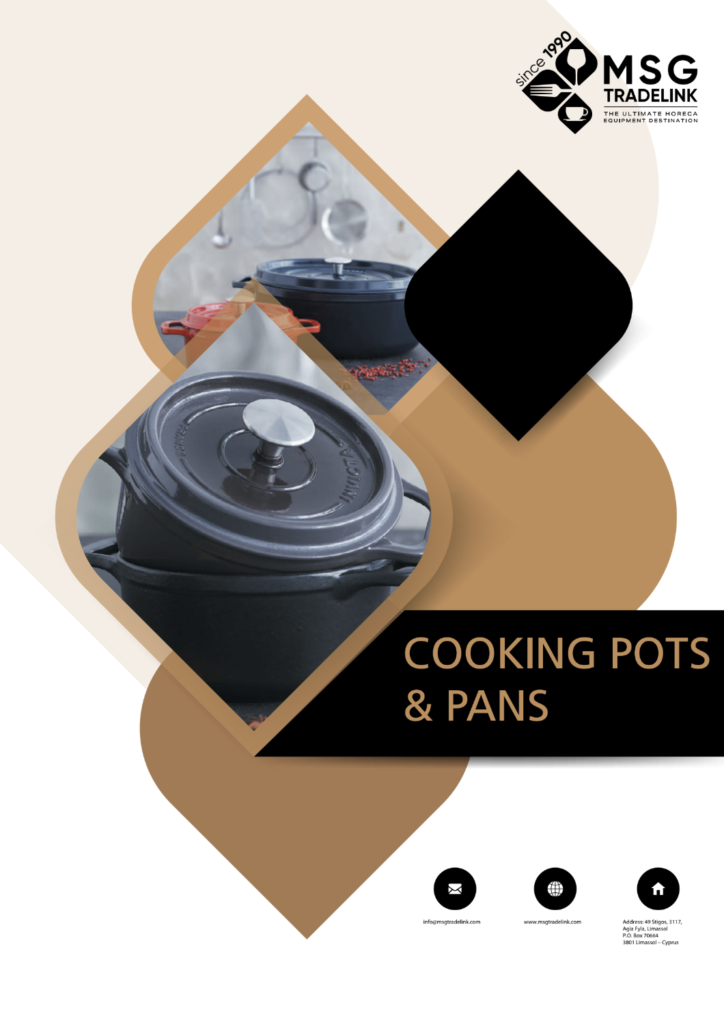 Cooking pots & pans | Kitchen solutions Cyprus