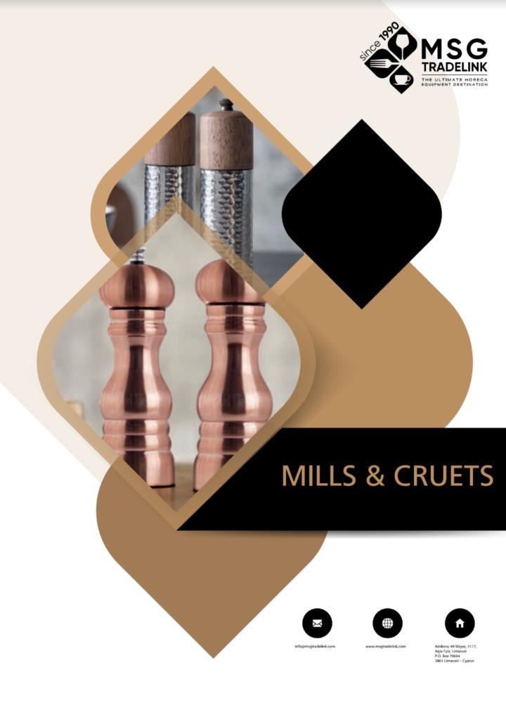 Mills & Cruets | Tabletop solutions Cyprus