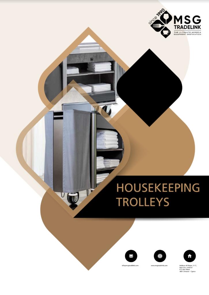Housekeeping Trolleys | TROLLEYS | Cyprus