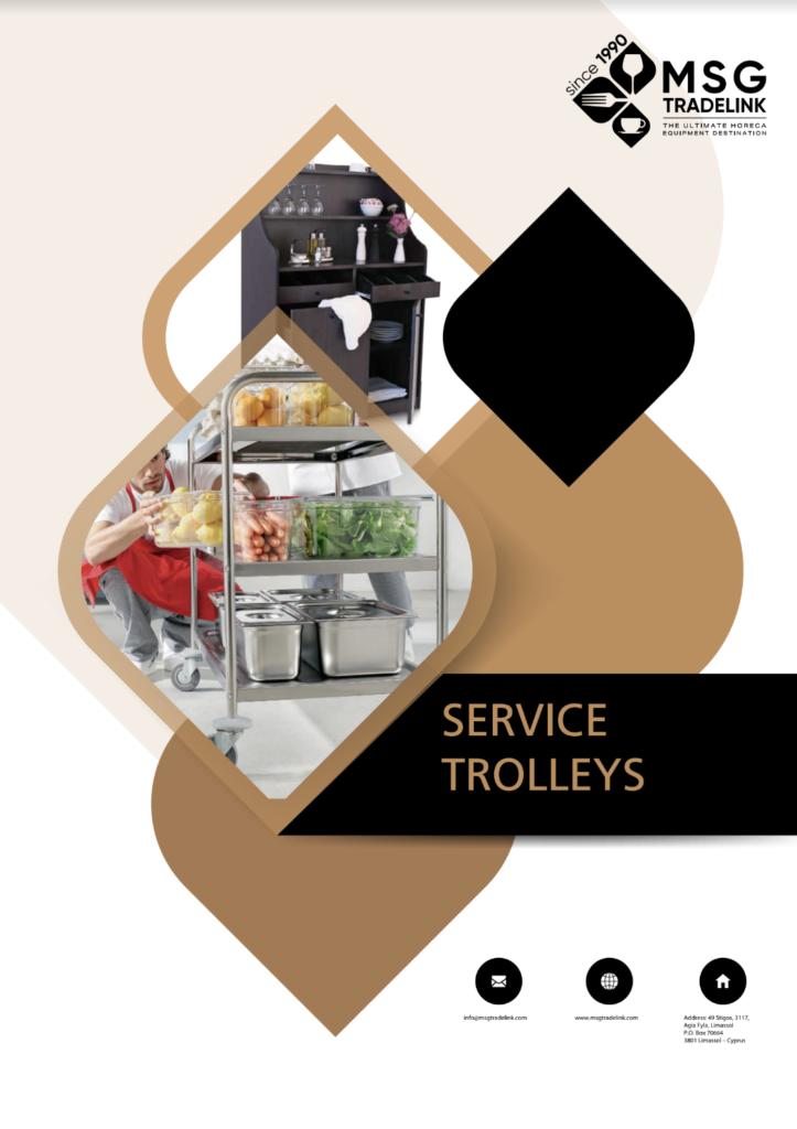 Service trolleys | TROLLEYS | Cyprus