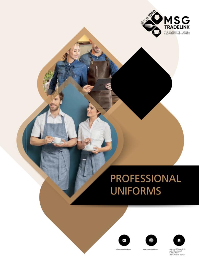 Professional Uniforms for Hotel, restaurant, bar in Cyprus