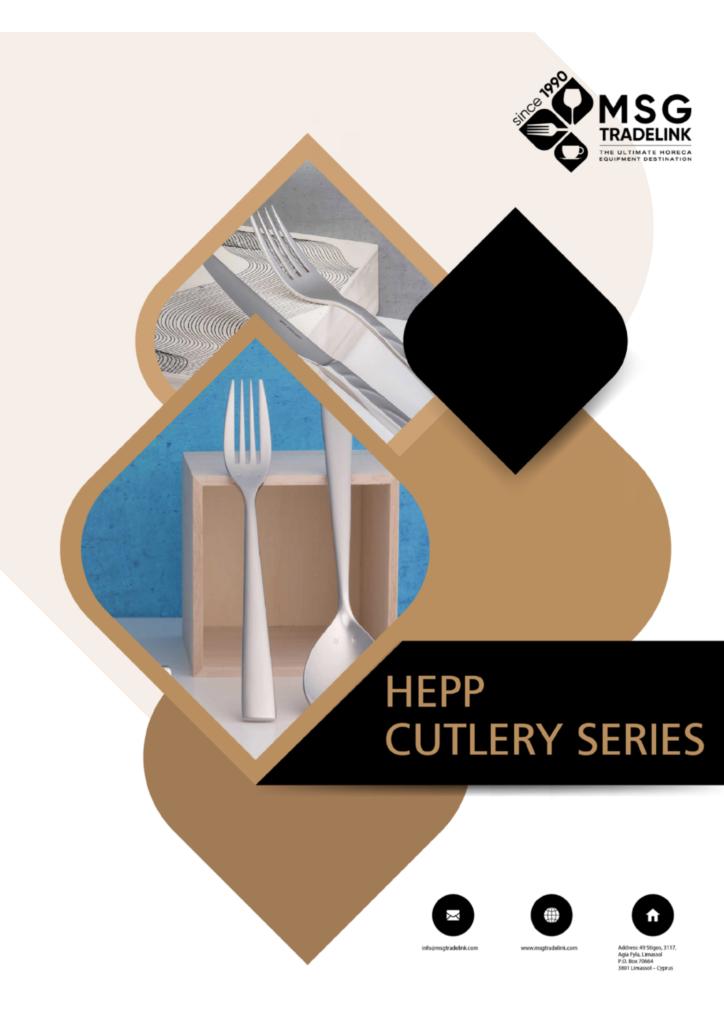 HEPP cutlery | Cyprus | Cutlery