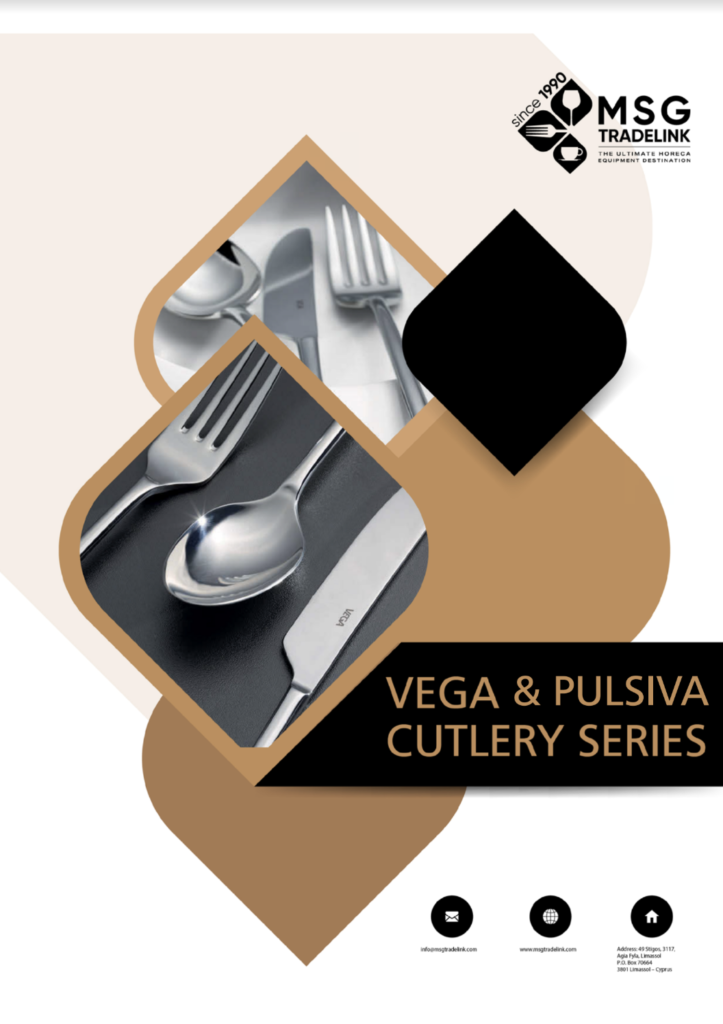Vega & pulsiva cutlery | Cyprus | Cutlery